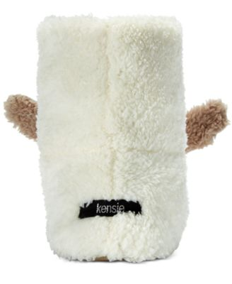 kensie Womens Critter Bunny Boot Slippers