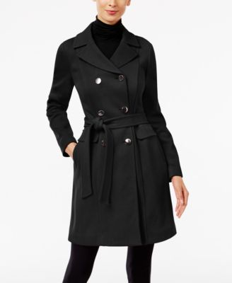 INC International Concepts Petite Trench Coat