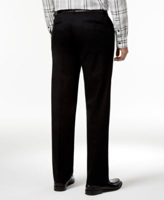 Haggar Mens Premium Straight-Fit Non-I..