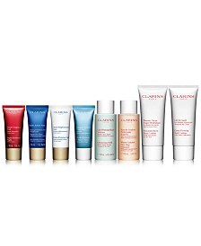 Receive your choice of 3-piece bonus gift with your $99 Clarins purchase
