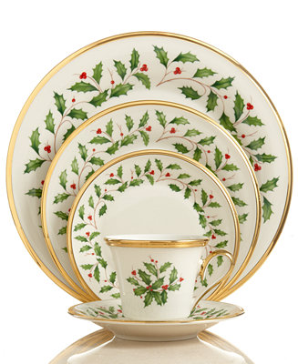 Lenox Dinnerware Holiday Collection Fine China Macy S
