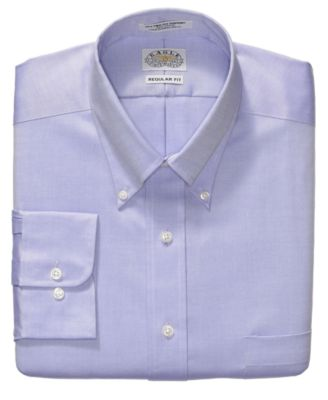 Eagle Mens Classic Non-Iron Amethyst Pinpoint Dress Shirt