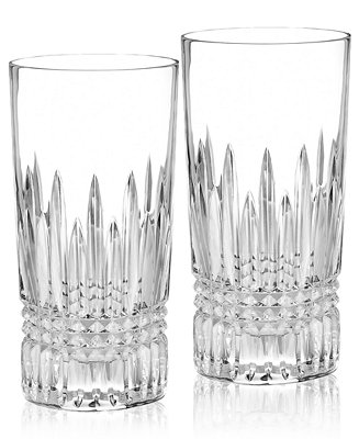 Waterford Barware Lismore Diamond Highball Glasses Set