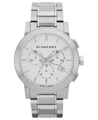 Burberry Watch Mens Swiss Chronograph ..