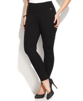 Calvin Klein Plus Size Pull-On Skinny ..