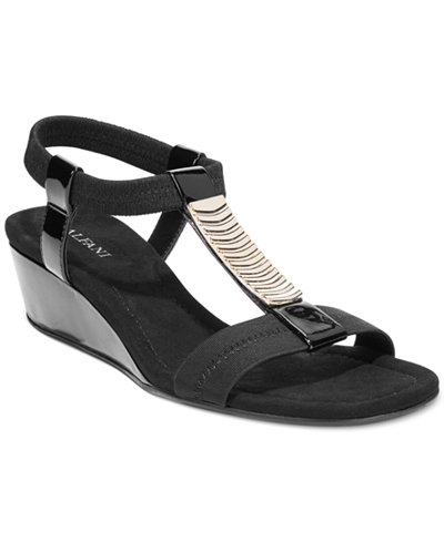 Alfani Women's Vacay Wedge Sandals, Only at Macy's - Sandals - Shoes - Macy's