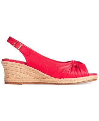Bella Vita Sangria Too Espadrille Platform Wedge Sandals