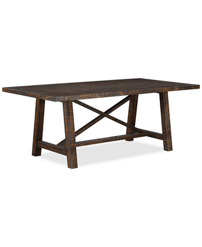 Ember dining table only at macy 39 s furniture macy 39 s for Macys dining table
