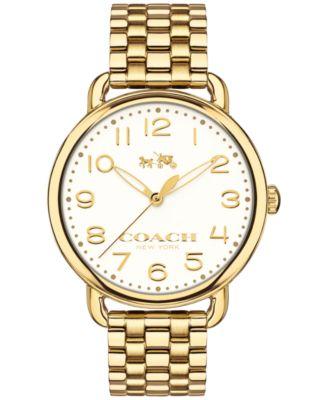 COACH WOMEN'S DELANCEY GOLD-PLATED BRACELET 36MM 14502261