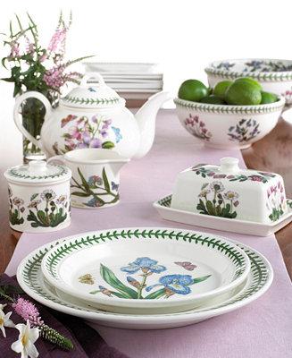 Portmeirion Dinnerware Botanic Garden Collection
