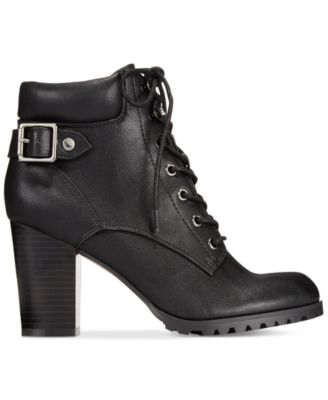 Style&co. Caitlin Lace-Up Booties