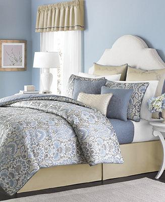 CLOSEOUT Martha Stewart Collection Amora 22 Piece California King Comforter