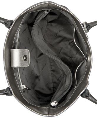 Calvin Klein Saffiano Leather Tote