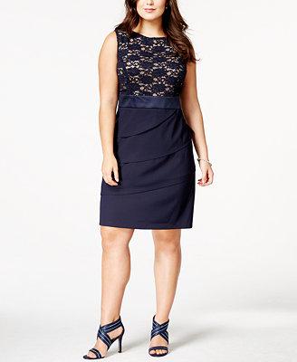 macy s women s plus size dresses images