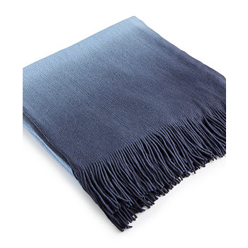 Martha Stewart Collection Ombre Throw