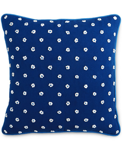 Closeout Martha Stewart Collection Indigo French Knot 16
