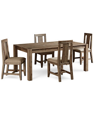 Canyon 5 Piece Dining Set Only At Macy S Table And 4