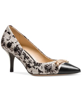 COACH Bowery Pointed-Toe Pumps