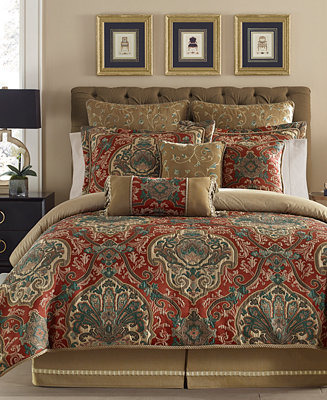 croscill orleans comforter sets bedding collections bed bath macy 39 s. Black Bedroom Furniture Sets. Home Design Ideas