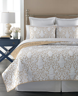 Martha Stewart Collection Chateau Latte Quilts Only At