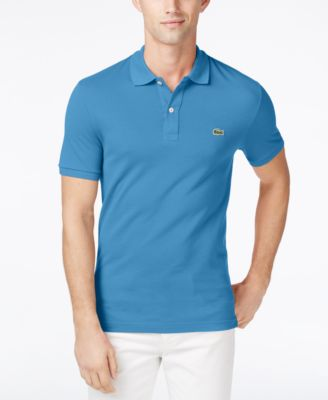 Lacoste Mens Slim-Fit Polo