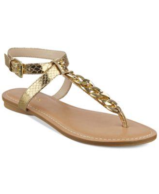 GUESS Womens Gurri Flat Sandals