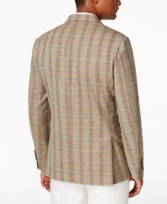 Tallia Slim-Fit Viking Plaid Sport Coat