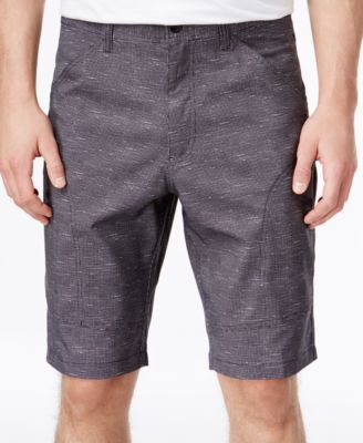 Hawke & Co. Outfitter Mens Nylon Flat-Front Active Shorts