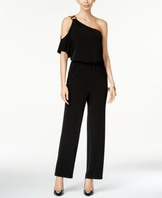 Thalia Sodi One-Shoulder Jumpsuit