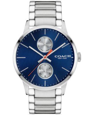 COACH Men's Metropolitan Stainless Steel Bracelet Watch 42mm 14602098