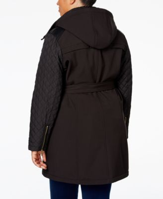 MICHAEL Michael Kors Plus Size Hooded ..
