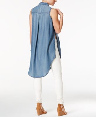 Velvet Heart Cannes High-Low Denim Tun..