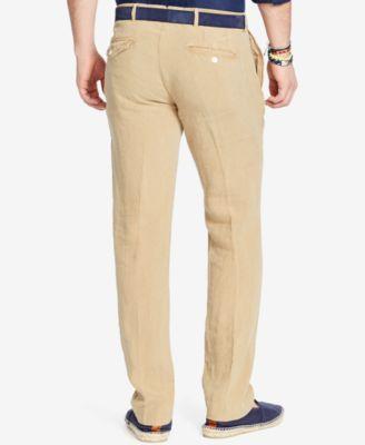Polo Ralph Lauren Big & Tall Mens Classic-Fit Linen Pants