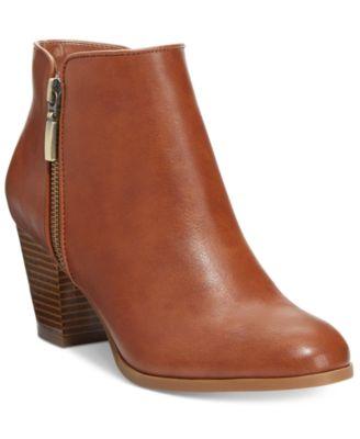 Style& Co. Jamila Zip Booties