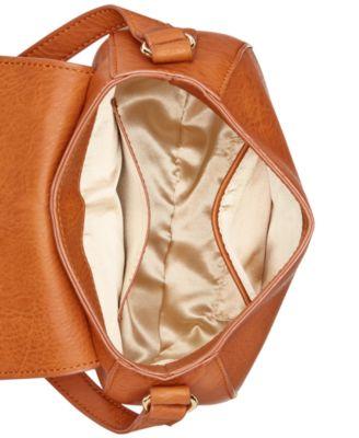 INC International Concepts Grayson Saddle Bag