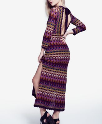 Free People Good Vibration Printed Cut..
