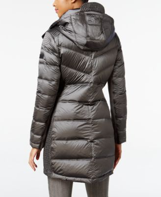 BCBGeneration Hooded Quilted Puffer Coat