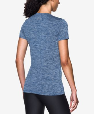 Under Armour UA Tech Twist Logo V-Neck T-Shirt