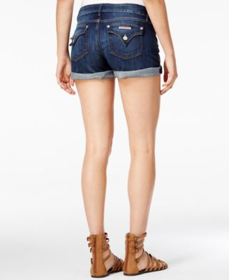 Hudson Jeans Cuffed Denim Shorts Enlighten Wash