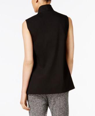 Anne Klein Open-Front Vest
