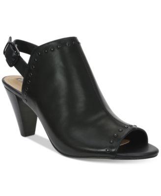 Tahari Elton Slingback Peep-Toe Sandals