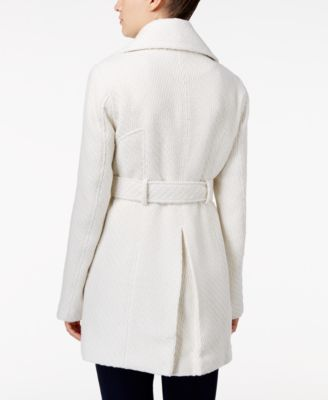 BCX Juniors Basketweave-Textured Coat