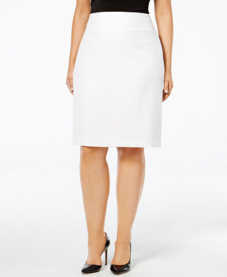 alfani plus size classic pencil skirt skirts