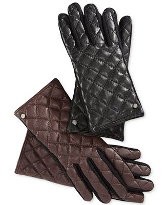gift ideas - leather gloves