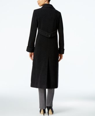 Jones New York Wool-Blend Maxi Coat