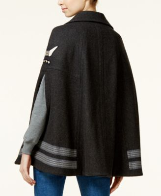 TOMMYXGIGI Wool-Blend Military Cape