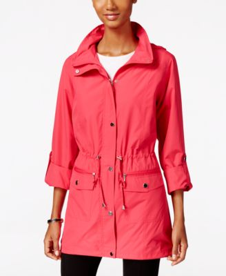 Style & Co. Hooded Anorak Jacket