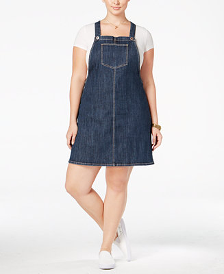 American Rag Trendy Plus Size Denim Jumper Only At Macy S