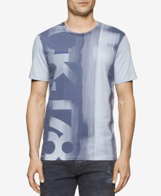 Calvin Klein Jeans Mens Graphic-Print ..