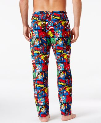 Briefly Stated Mens Avengers Lounge Pants